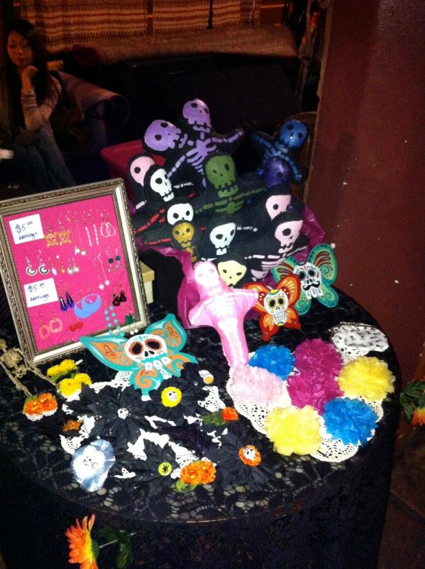 Heavenly Skull representing in Santa Barbara